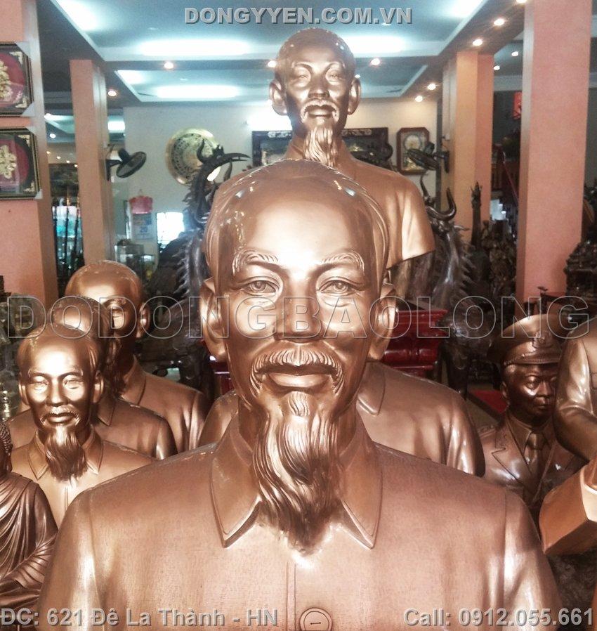 Nhận Đúc Tượng Bác Hồ Bằng Đồng