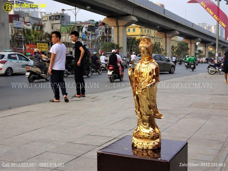 tượng phật tam thánh tây phương