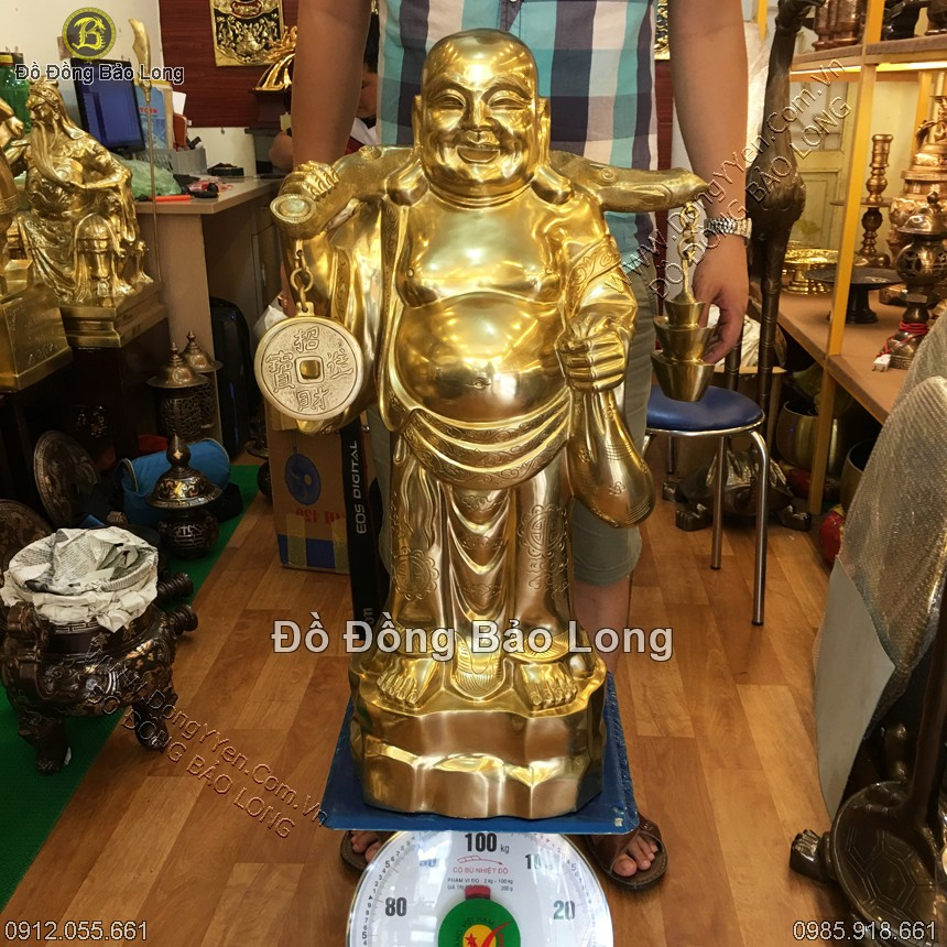Tượng Phật Di Lặc Bằng Đồng Đẹp