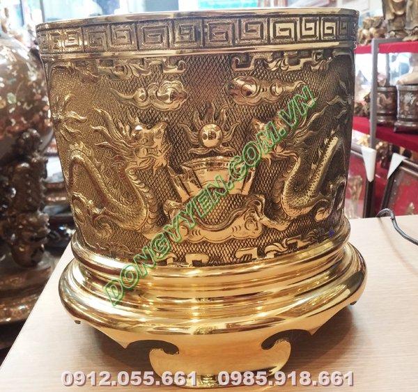 Bát Hương Đồng Đài Loan đường kính 20cm