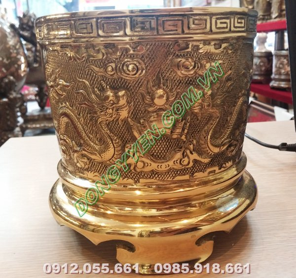 Bát hương đồng vàng Đài Loan