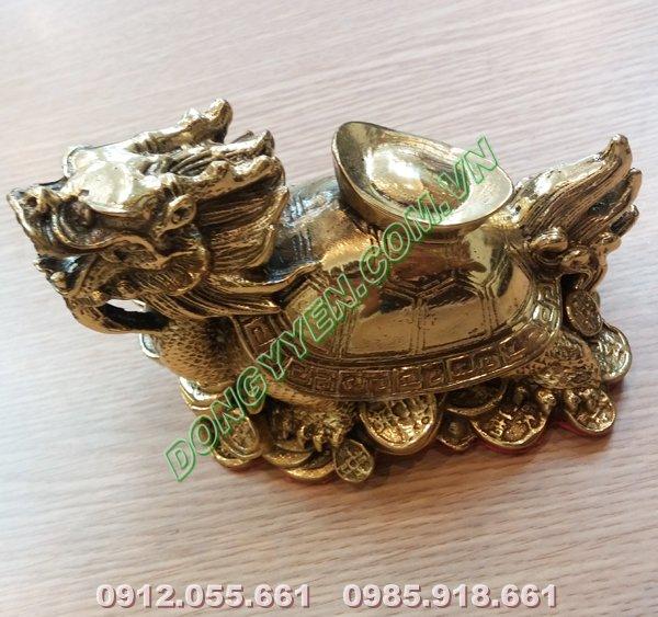 Long Quy cõng tiền - Rùa đầu rồng cõng tiền