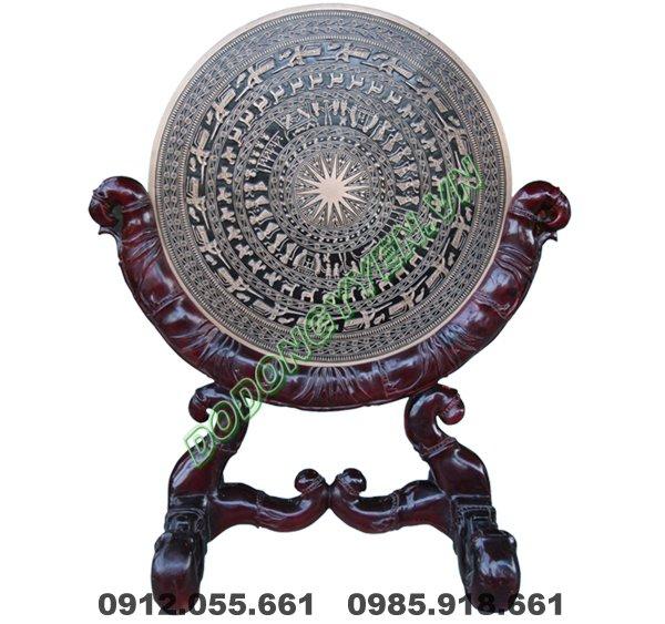 Mặt Trồng Đồng Đúc 40cm - Giá Gỗ