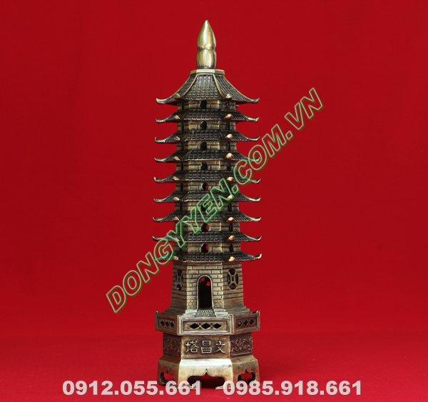 Quà Tặng Tháp Văn Xương Bằng Đồng