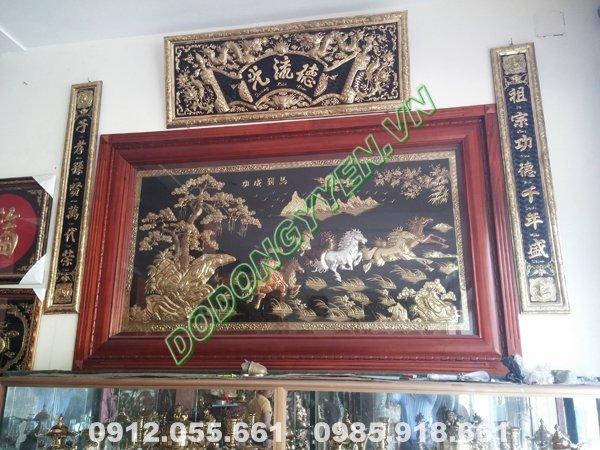 Tranh Đồng Treo Phòng Khách